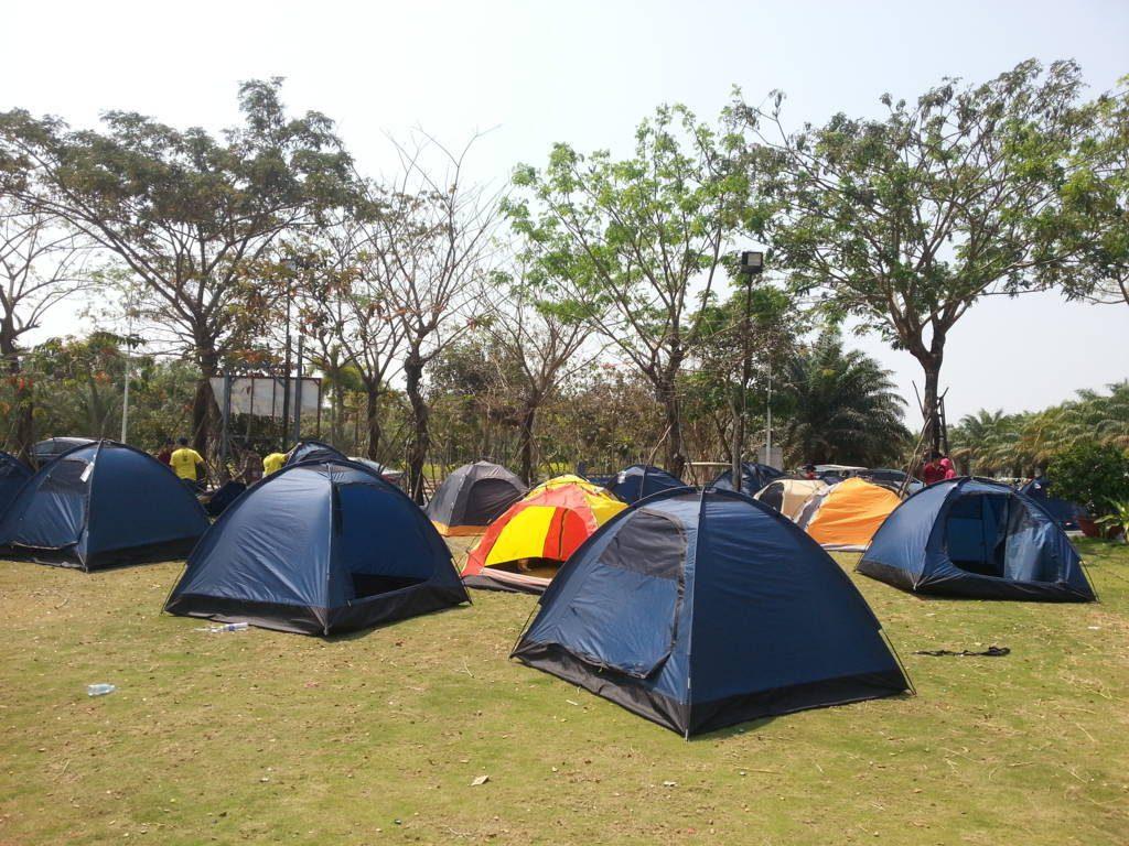 Khu vực cắm trại tại BCR