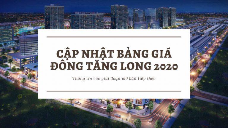 Cập nhật bảng giá đông tăng long 2020
