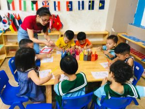 Truong mam non the first montessori academy 1