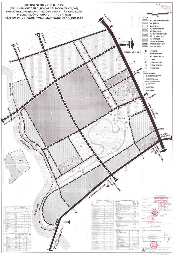 bản đồ quy hoạch dự án vinhome tây tăng long quận 9