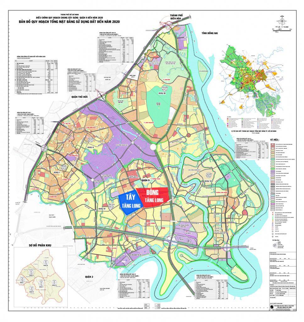 vị trí dự án vinhome tây tăng long quận 9