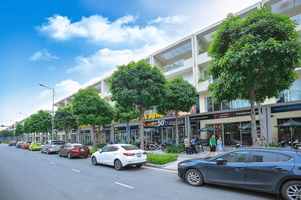 Dãy nhà phố liền kề ( shophouse ) tại khu đô thị Sala quận 2
